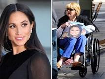 Đi xe lăn đến Cung điện Hoàng gia để nói lời xin lỗi, chị gái Meghan Markle bị vệ sĩ đuổi thẳng cổ