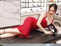 Lạm dụng tắm trắng, Angela Phương Trinh ngày càng gây