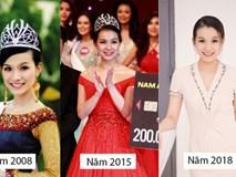 Bất ngờ trước nhan sắc 10 năm không đổi của HH Thùy Lâm, fan càng ngỡ ngàng hơn với làn da mộc mạc của nàng Hậu ngoài 30 này