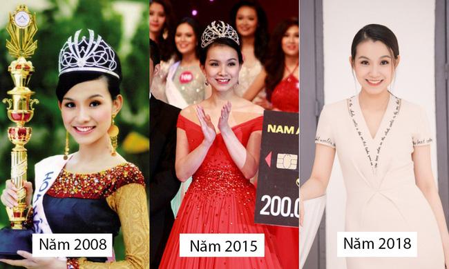 Bất ngờ trước nhan sắc 10 năm không đổi của HH Thùy Lâm, fan càng ngỡ ngàng hơn với làn da mộc mạc của nàng Hậu ngoài 30 này-9
