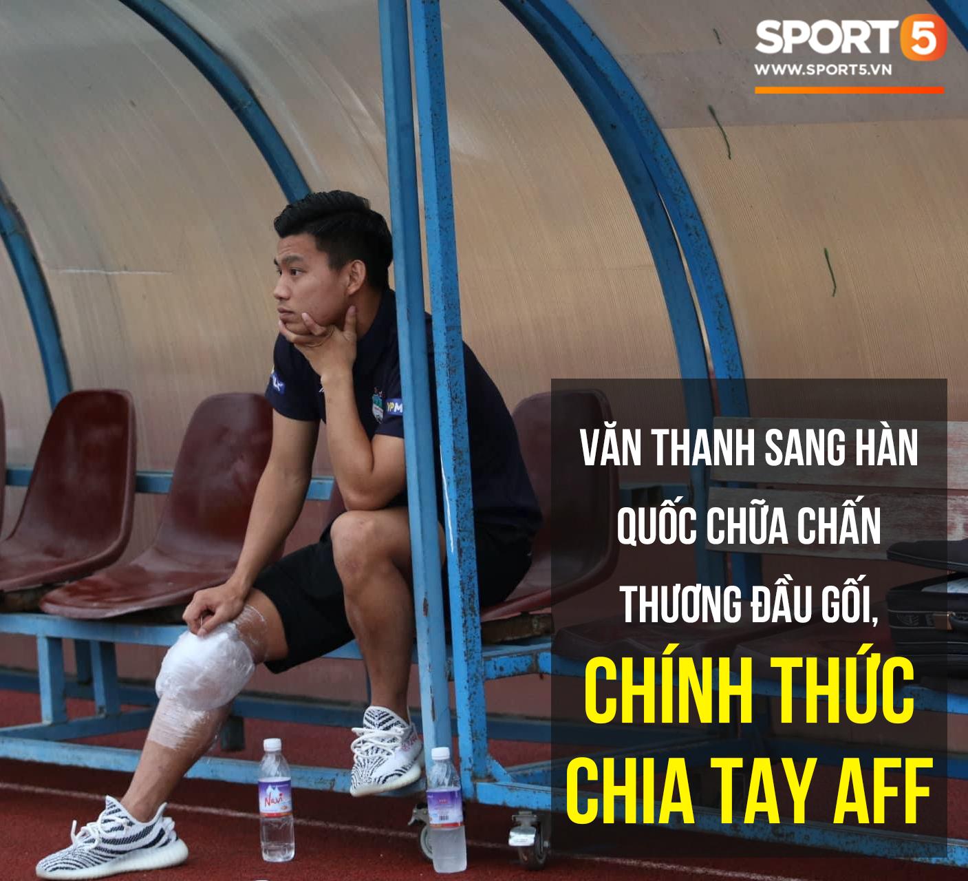Vũ Văn Thanh đứt dây chằng, chia tay AFF Cup 2018-1
