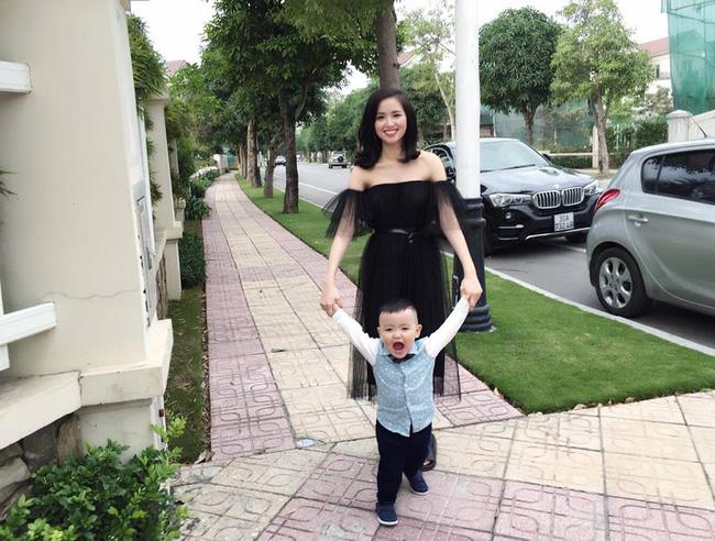Con trai nhỏ vừa tròn tuổi, cựu hot girl Tâm Tít lại úp mở chuyện đang thai nghén em bé thứ ba?-13