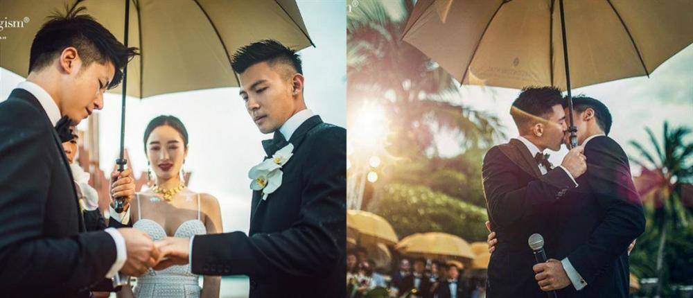 Xôn xao đám cưới đồng tính của chàng doanh nhân thành đạt với cậu sinh viên nghèo-1