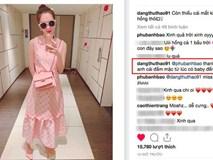 Diện cả bộ hồng từ đầu đến chân, HH Đặng Thu Thảo trót tiết lộ bí mật về chiếc váy mà cô đang mặc