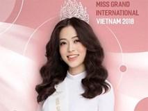 Nhan sắc các người đẹp từng thi Miss Grand trước Á hậu Phương Nga
