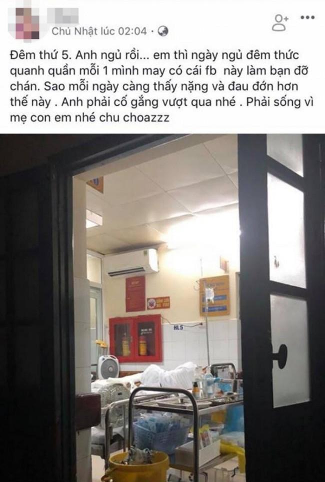 Vụ nam thanh niên bị chém nát chân ở Phú Thọ: Người vợ nói gì khi bị tố sống ảo, câu like lúc chăm chồng ở viện?-1