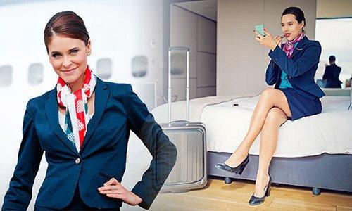 Tiếp viên hàng không tiết lộ điều bí mật của đồng phục váy ngắn-1