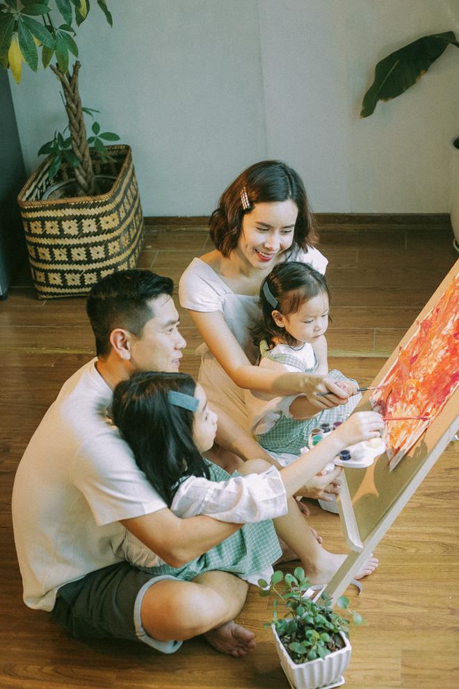 Lưu Hương Giang - Hồ Hoài Anh lần đầu khoe mái ấm nhỏ với gia đình đủ 4 thành viên-2