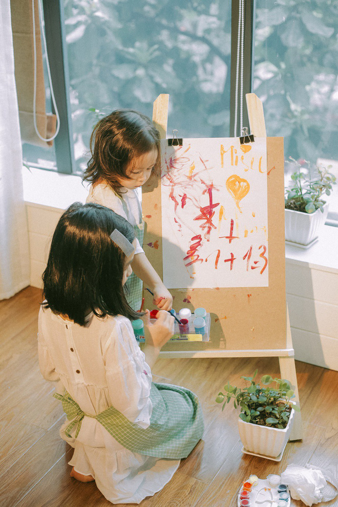 Lưu Hương Giang - Hồ Hoài Anh lần đầu khoe mái ấm nhỏ với gia đình đủ 4 thành viên-4