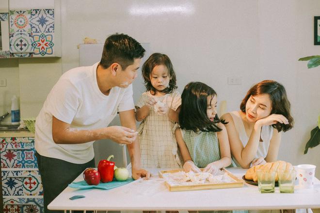 Lưu Hương Giang - Hồ Hoài Anh lần đầu khoe mái ấm nhỏ với gia đình đủ 4 thành viên-5
