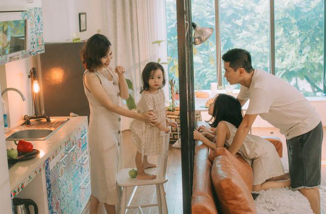 Lưu Hương Giang - Hồ Hoài Anh lần đầu khoe mái ấm nhỏ với gia đình đủ 4 thành viên-14
