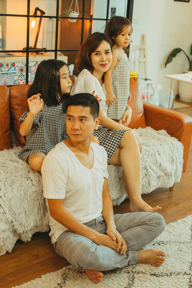 Lưu Hương Giang - Hồ Hoài Anh lần đầu khoe mái ấm nhỏ với gia đình đủ 4 thành viên-19