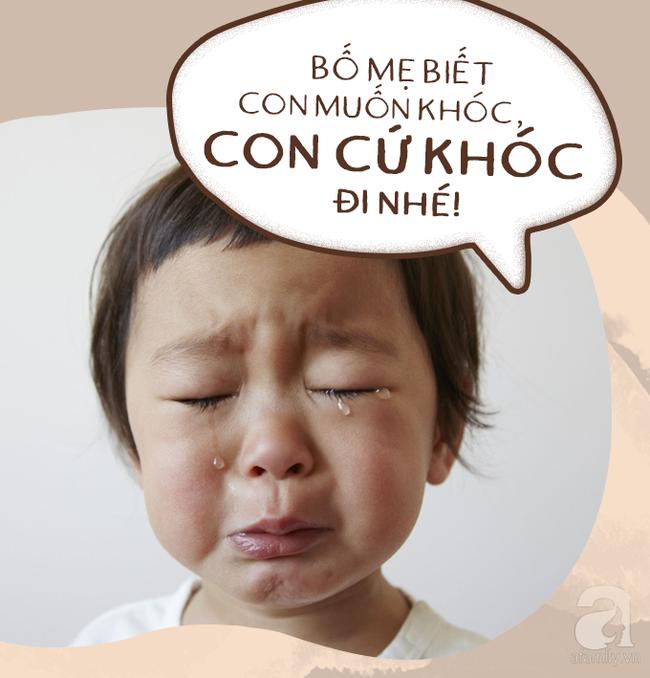 Có 7 câu nói diệu kì giúp trẻ tự nín khóc hiệu quả mà bố mẹ chẳng cần quát mắng, nạt nộ-2