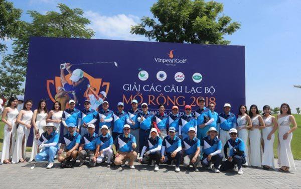 Hội Golf Hải Phòng vô địch giải Các CLB Mở rộng 2018-3