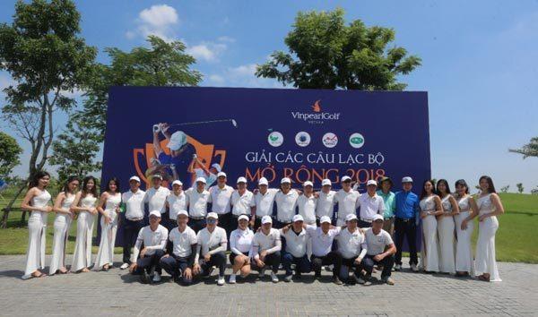 Hội Golf Hải Phòng vô địch giải Các CLB Mở rộng 2018-5