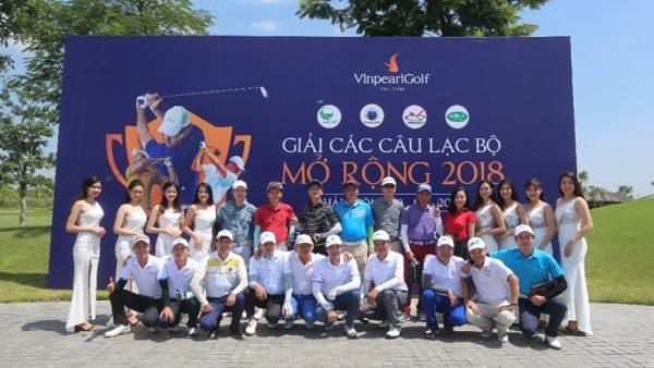 Hội Golf Hải Phòng vô địch giải Các CLB Mở rộng 2018-1