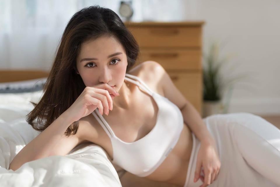 Hotgirl trà sữa Jun Vũ lột xác sexy-5