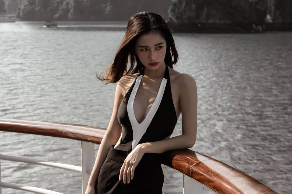 Hotgirl trà sữa Jun Vũ lột xác sexy-9