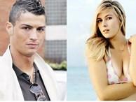 """Ronaldo từng """"qua đêm"""" với hoa hậu quần vợt Sharapova?"""