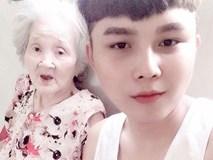 Cháu trai của bà cụ 90 tuổi