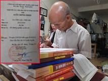 Găp gỡ cụ sinh viên 85 tuổi ở Hà Nội đang học năm thứ 2 ngành Luật