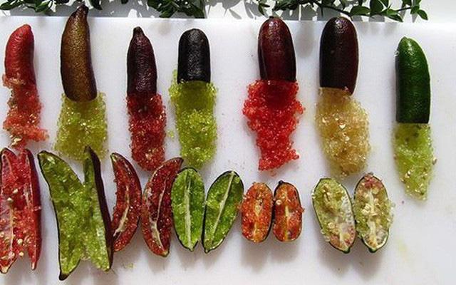 Chanh ngón tay có hương vị lạ giá 3,5 triệu đồng/kg-4