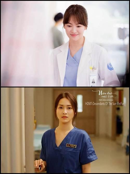 Trong phim mặc giống style nhưng ngoài đời Khả Ngân và Song Hye Kyo lại khác hoàn toàn-1
