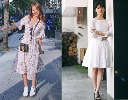 Trong phim mặc giống style nhưng ngoài đời Khả Ngân và Song Hye Kyo lại khác hoàn toàn-3