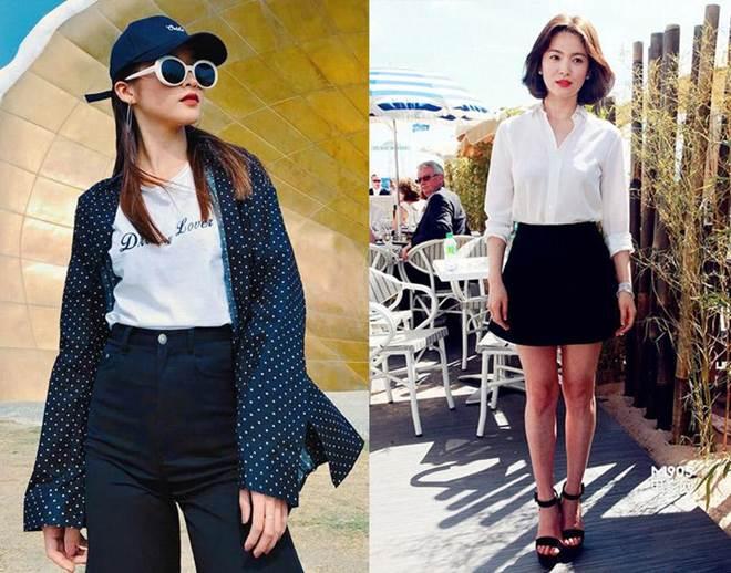 Trong phim mặc giống style nhưng ngoài đời Khả Ngân và Song Hye Kyo lại khác hoàn toàn-4