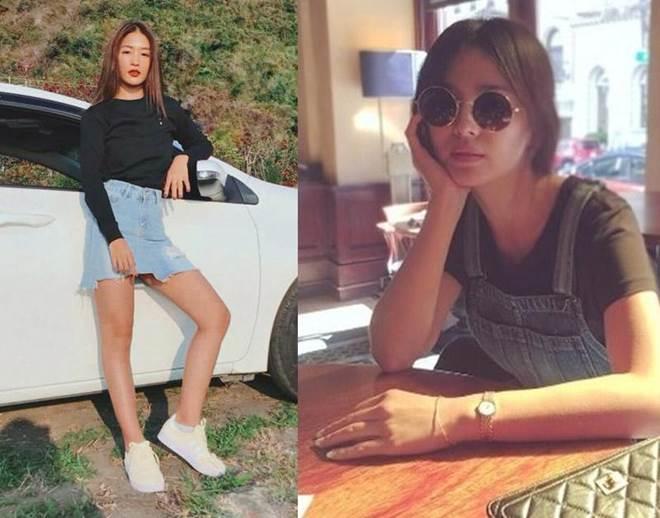 Trong phim mặc giống style nhưng ngoài đời Khả Ngân và Song Hye Kyo lại khác hoàn toàn-6