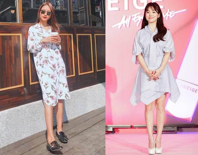 Trong phim mặc giống style nhưng ngoài đời Khả Ngân và Song Hye Kyo lại khác hoàn toàn-7