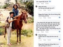 Chí Trung đăng ảnh cùng bà xã Ngọc Huyền nhưng phần bình luận với bạn bè lại gây hoang mang, khó hiểu