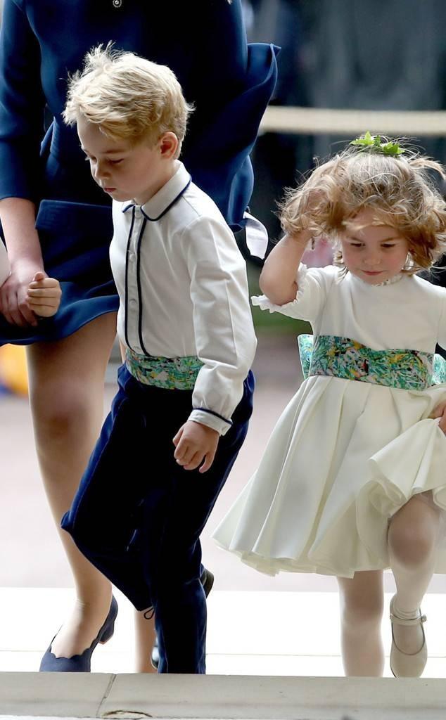 Gió lớn suýt thổi bay dàn phù dâu nhí nhưng hành động của Công chúa Charlotte đậm chất hoàng gia-8