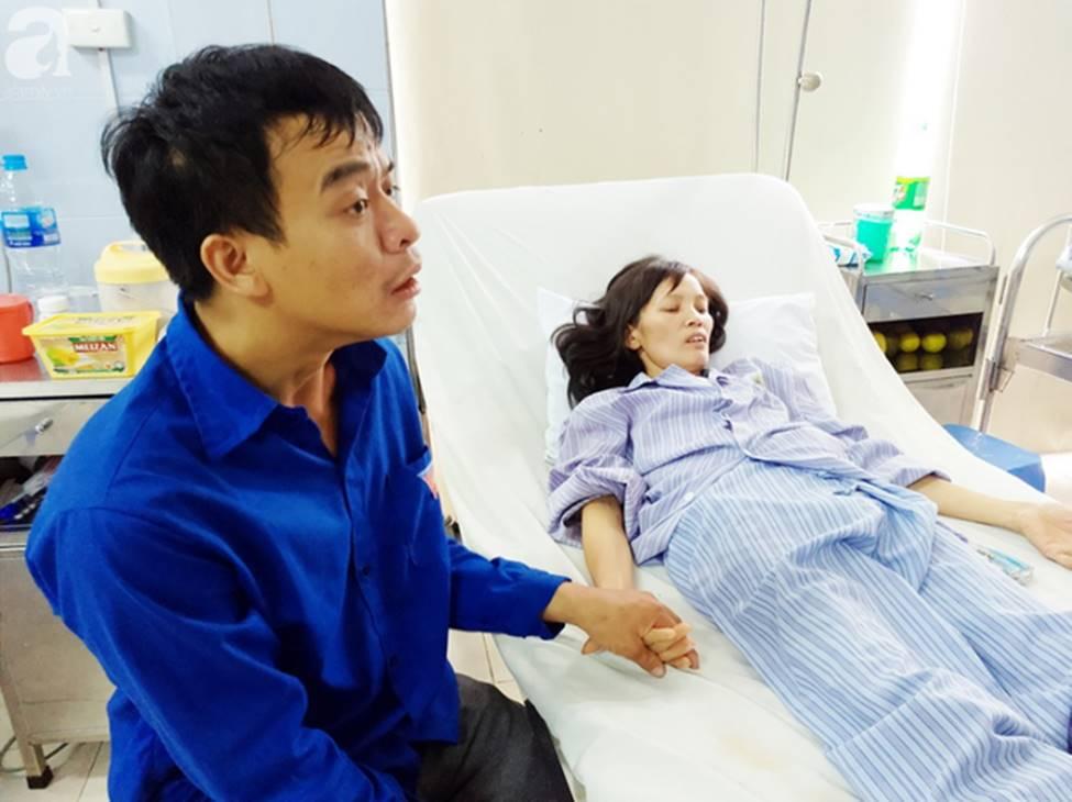 Nam Định: Chàng trai trẻ tàn tật khóc tuyệt vọng khi vợ hơn gNam Định: Chàng trai trẻ tàn tật khóc tuyệt vọng khi vợ hơn gần 10 tuổi lên cơn đau tim mà không tiền chạy chữa-5