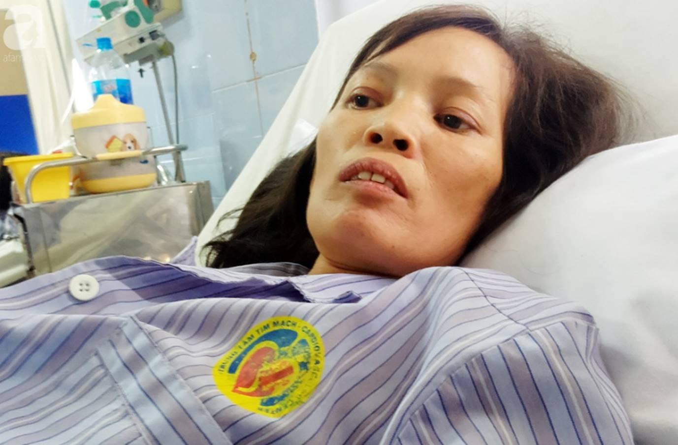 Nam Định: Chàng trai trẻ tàn tật khóc tuyệt vọng khi vợ hơn gNam Định: Chàng trai trẻ tàn tật khóc tuyệt vọng khi vợ hơn gần 10 tuổi lên cơn đau tim mà không tiền chạy chữa-6
