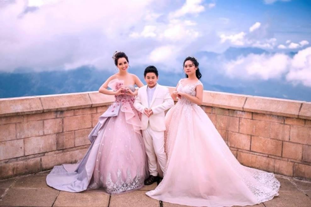 Mai Thu Huyền hóa công chúa lung linh giữa trời mây Đà Nẵng-2