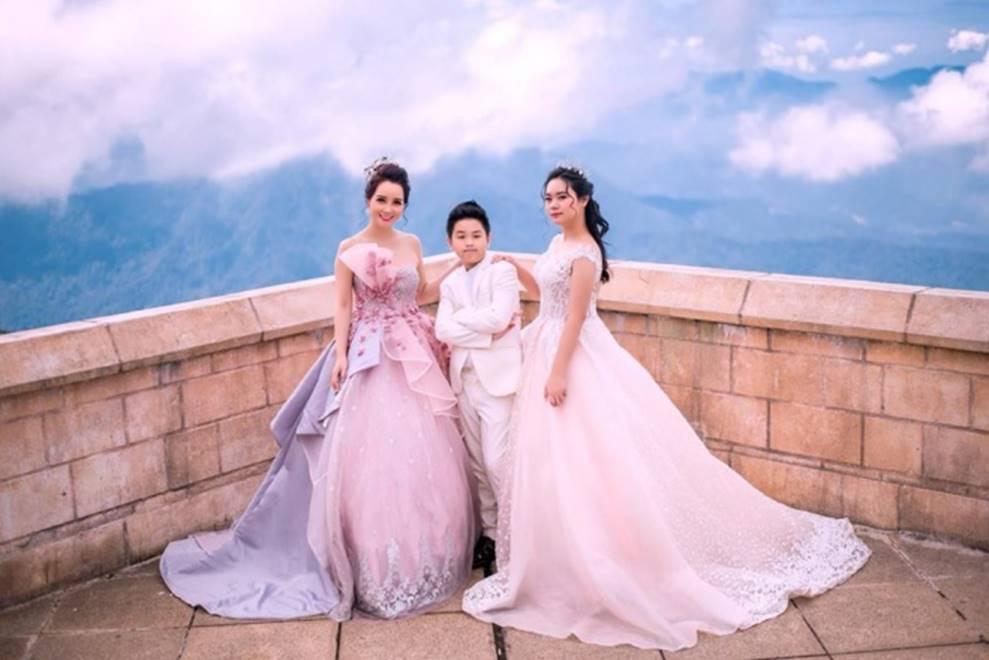 Mai Thu Huyền hóa công chúa lung linh giữa trời mây Đà Nẵng-5