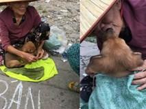 Nụ hôn từ biệt của cụ già và chú chó nhỏ: Câu chuyện không ai cầm được nước mắt giữa phố Sài Gòn