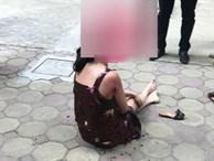 Vụ chồng rút súng bắn vợ giữa chung cư ở Hà Nội: Khám xét nơi ở của nghi phạm