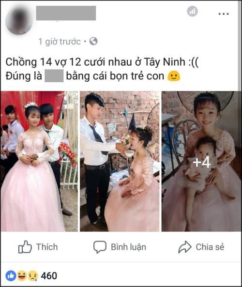 Sự thật đằng sau loạt ảnh đám cưới chú rể 14, cô dâu 12 gây sốt cộng đồng mạng-1
