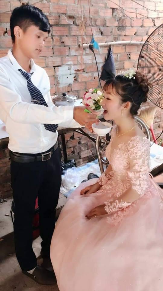 Sự thật đằng sau loạt ảnh đám cưới chú rể 14, cô dâu 12 gây sốt cộng đồng mạng-4