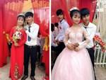 5 cặp đôi nhi đồng ăn chưa no đã lo cưới gây bão mạng xã hội Việt-8