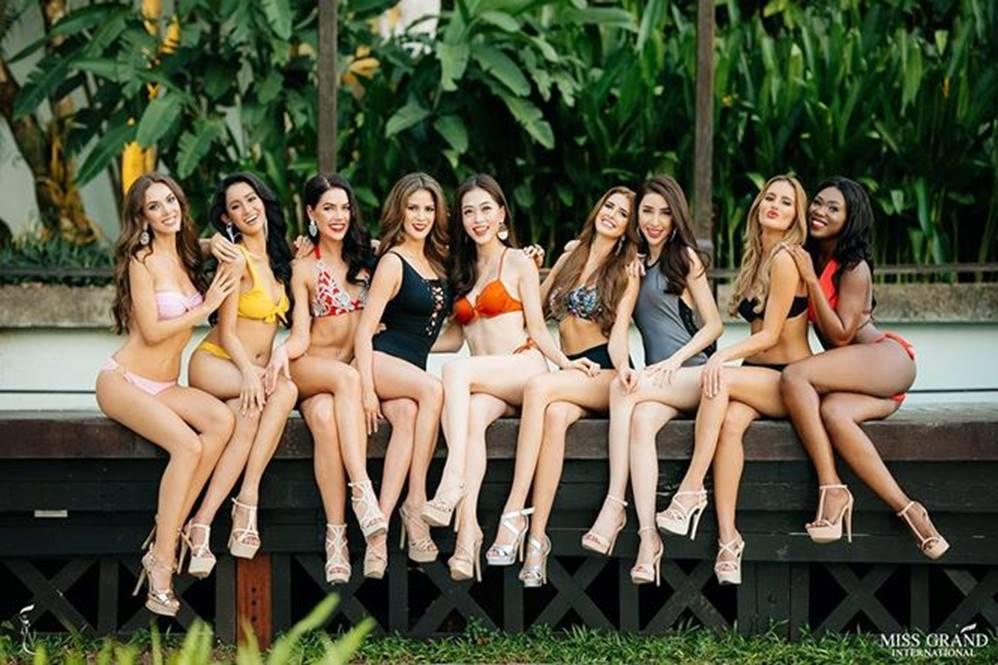 Ảnh bikini của Phương Nga tại Miss Grand International 2018 gây sốt-1