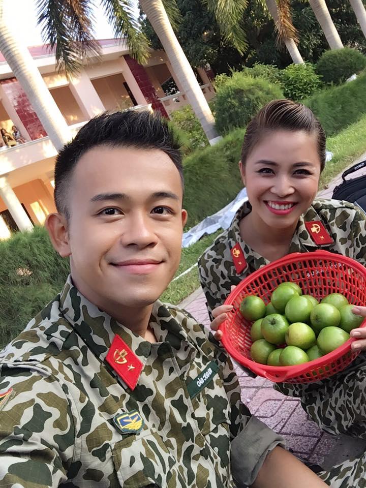 """MC Hoàng Linh Chúng tôi là chiến sỹ khoe những mâm cơm đơn vị"""", ai nhìn cũng ghen vì thèm-1"""
