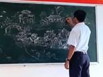 Nữ sinh lớp 9 khiến dân mạng phát cuồng khi biến vở Văn thành tác phẩm hội hoạ đẹp mê hồn-10