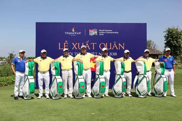 Đội tuyển Golf Việt Nam quyết vô địch WAGC 2018-1