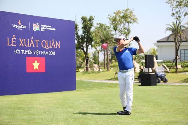Đội tuyển Golf Việt Nam quyết vô địch WAGC 2018-2