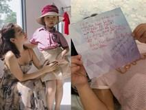 Con gái vừa vào lớp mới đã được bạn gửi thư, Phạm Quỳnh Anh đọc xong thì... ngã ngửa