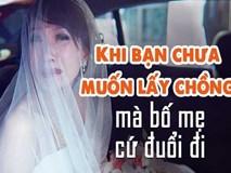 Ai cũng phải bật cười với cô dâu mới gọi điện làm nũng mẹ trong ngày cưới