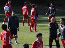 Muôn sắc thái của HLV Park Hang Seo trong buổi tập của đội tuyển Việt Nam tại Hàn Quốc
